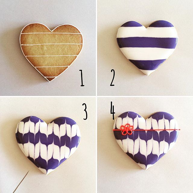 How to make Yabane cookie. It's a Japanese pattern of arrow feather shapes. 4コマレシピ第5弾。 海外のフォロワーが増えてきたので和柄を作ってみました(ˊᵕˋ) ①クッキーにアウトライン、ボーダー柄を引く ②やわらかいアイシングで交互に塗りつぶす。ボーダーに高さを出すようにするとよい。 ③アイシングが乾かないうちにピックで上下交互に模様をつけて乾かす。 ④紐を書いてできあがり #icingcookies#royalicing#sugardecoration#snoopy#instagood#instacookies#instafood#instasweet#kawaii#아이싱쿠키#曲奇#糖霜曲奇#Plätzchen#biscuit#galletadecoradas#biscoitosdecorados#edibleart #Japan#Japanese#kimono#Kyoto#일본#JaponInstagram web viewer online, You can find the ...