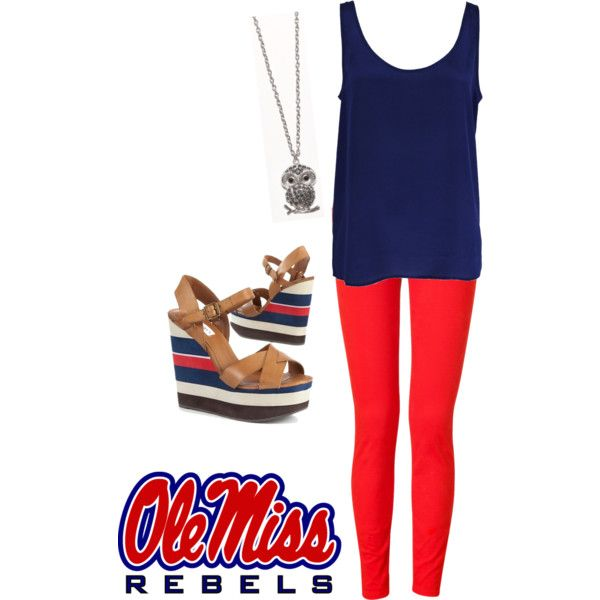 Perfect for an Ole Miss game! Only for Holt would I wear this!