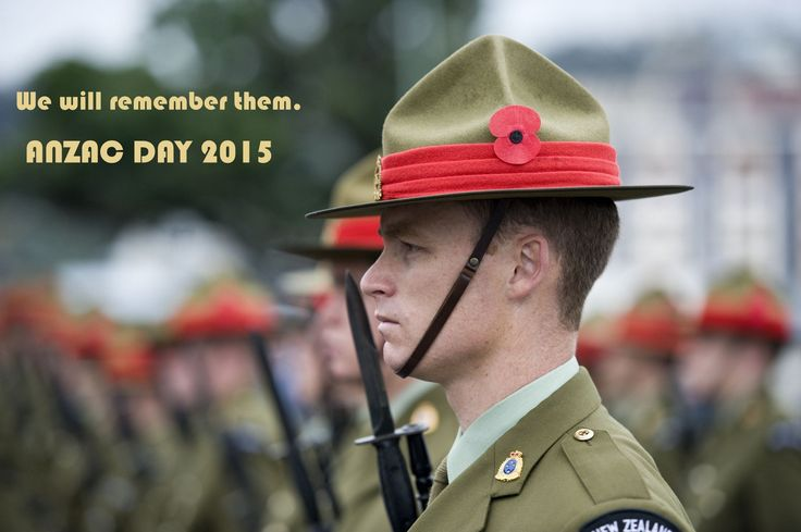 ANZAC Day quotes - service at the National War Memorial Wellington.