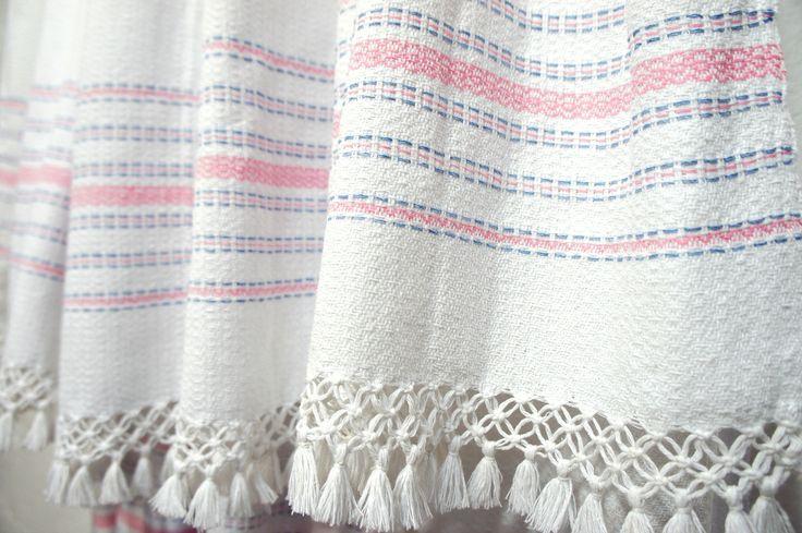 MEXCHIC: Cotton Blanket 'Olin Pink' www.mexchic.co