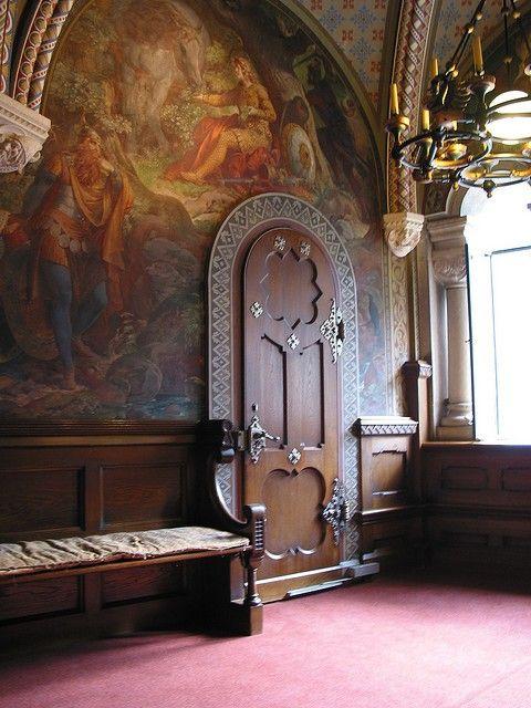 Neuschwanstein interior door