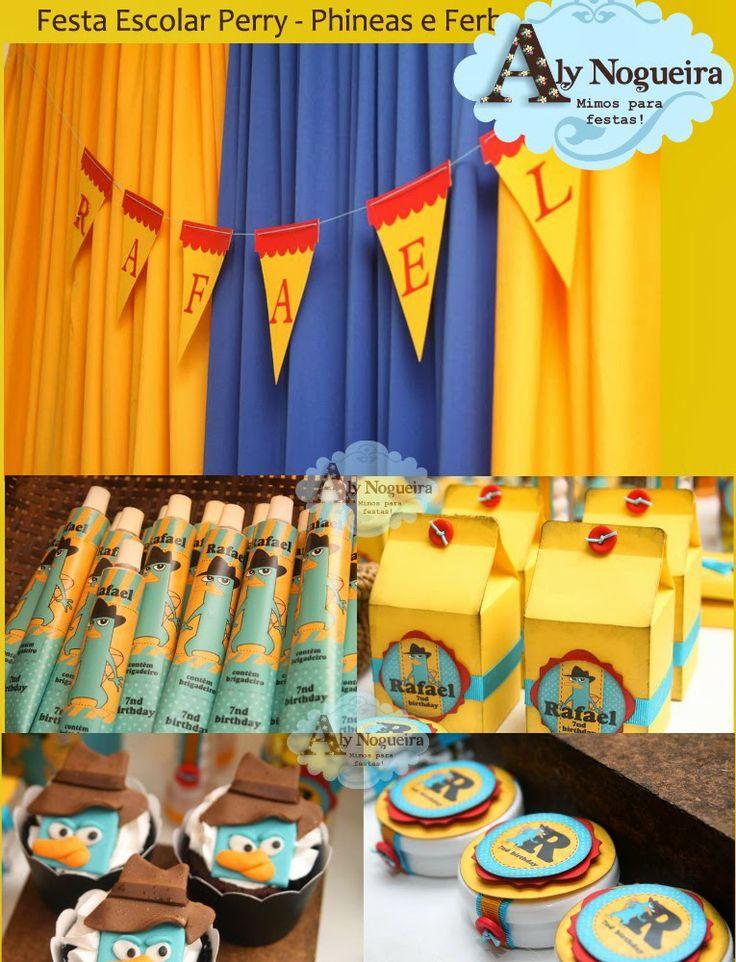 Festejando na Escola com Phineas & Ferb - Senhora Inspiração!