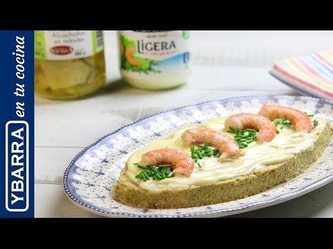 Receta Pastel de alcachofas Ybarra y langostinos - Ybarra en tu cocina