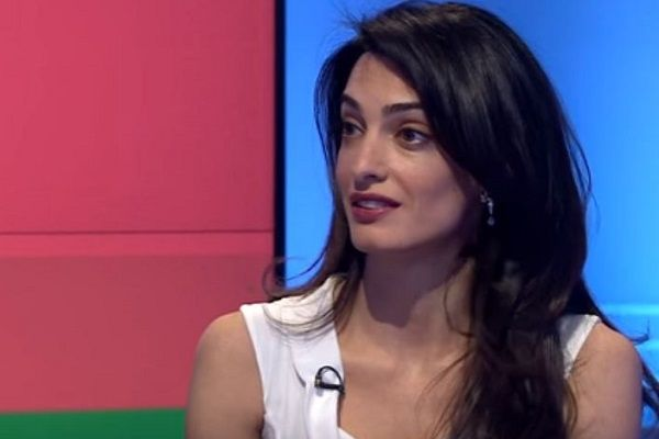 Amal Clooney Speaks up Against Donald Trump's Statements on Muslims and Women.