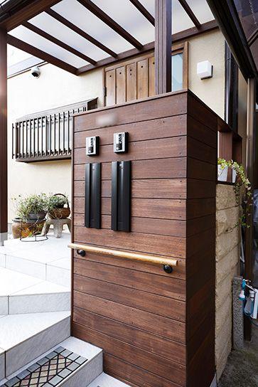 リフォーム・リノベーションの事例 玄関ポーチ 施工事例No.572ちょうどいい距離感の二世帯住宅 スタイル工房