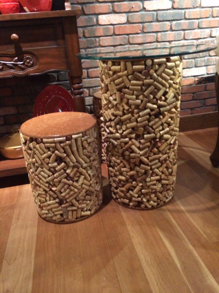 More cool things to make with corks :-)  taken at Firari Cariano tasting room Healdsburg,CA