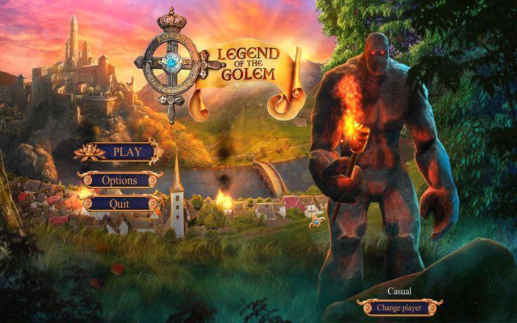 Menu of Royal Detective 3: Legend Of The Golem!