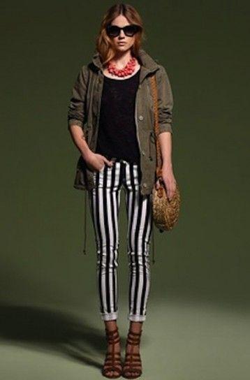 Cómo combinar leggins estampados: Fotos de los modelos