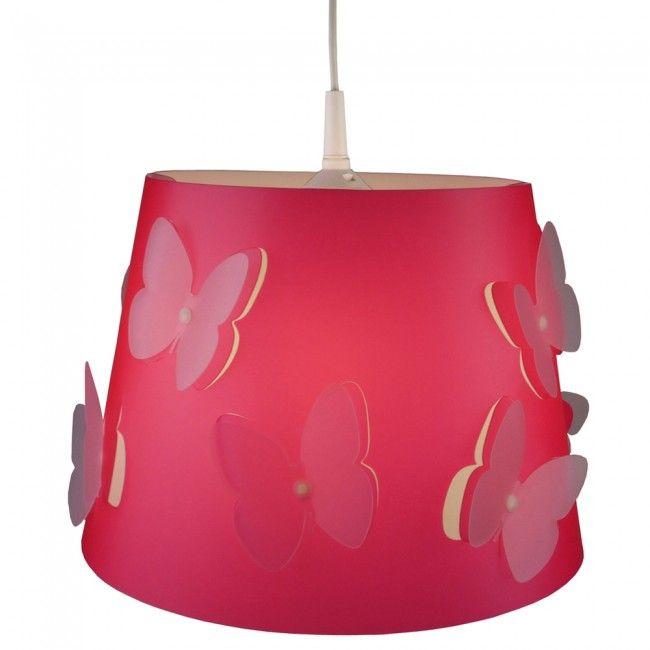 Hanglamp Vlinders - Lampen - Kinderkamer - Kinderen