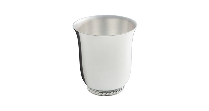 #Ercuis - Marine baby cup #silverplated