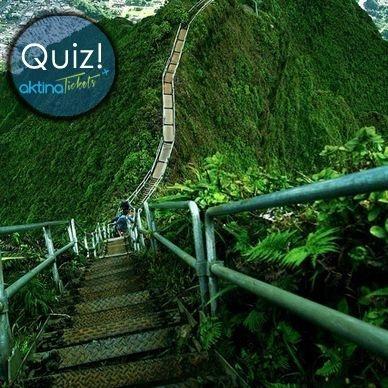 Ορίστε και ένα quiz !! Γνωρίζετε να μας πείτε πιο είναι αυτό το απότομο μονοπάτι πεζοπορίας,της σημερινής μας φωτογραφίας ??