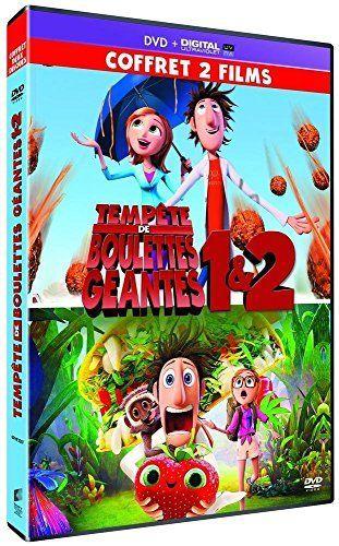 Tempête de boulettes géantes 1 & 2 [DVD + Copie digitale]: Tweet Contient : – Tempête de boulettes géantes : Flint Lockwod est un ingénieur…