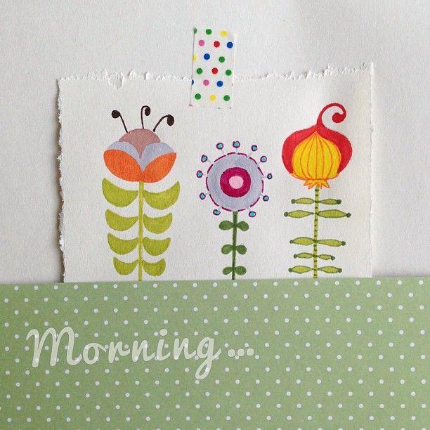 """@ira_ptashka's photo: """"рисовать, шить, упаковывать подарки...только не собирать чемодан доброе утро!"""""""
