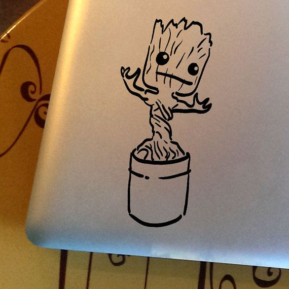 This is Baby GROOT in his signature dancing pose! It is inspired by the original Guardians of the Galaxy comic book series and movies. I am GROOT!