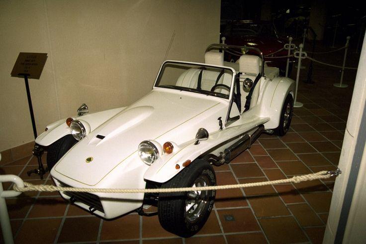 Prince Rainier III's Collection of Antique Automobiles. Monte Carlo.