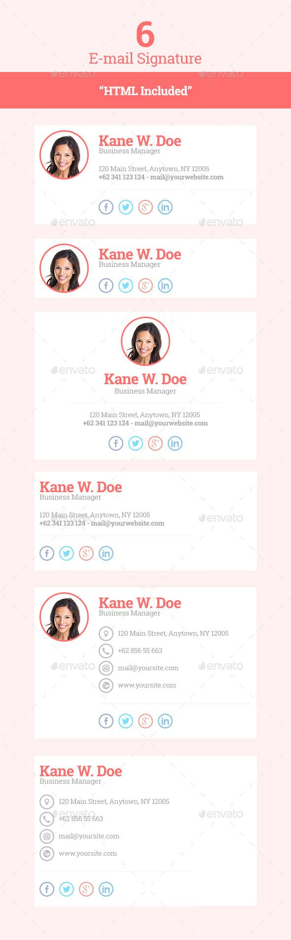 Best 20+ Email signatures ideas on Pinterest