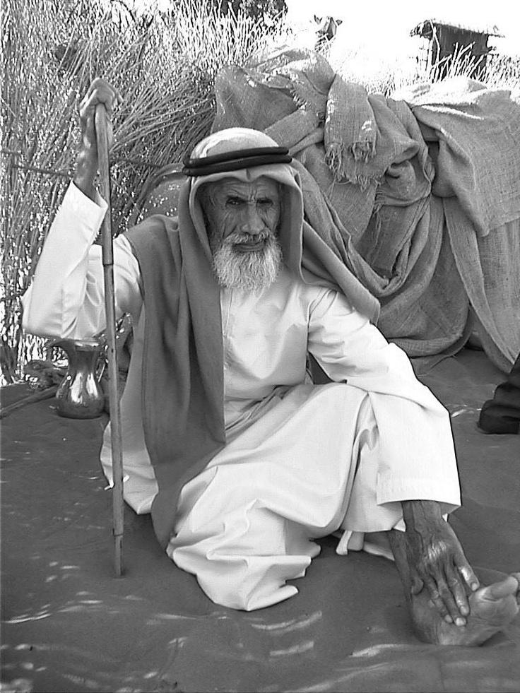 Bedouin Man Dubai