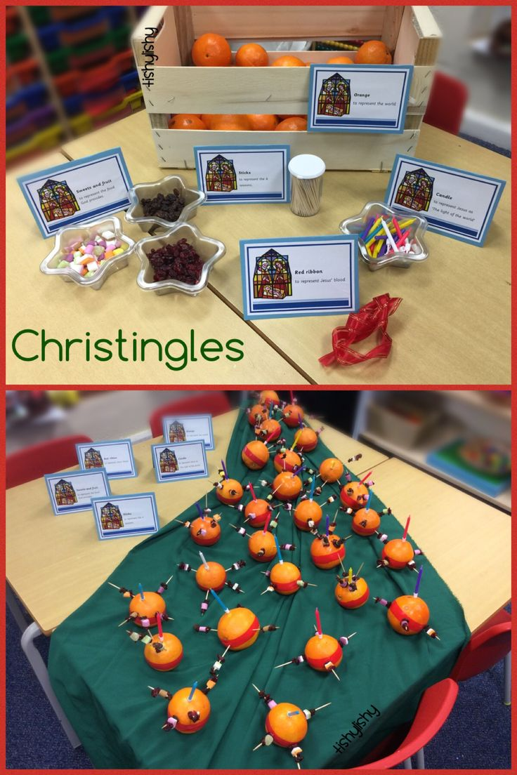 Our Christingles Printables available on the blog.  Click the photo to go direct