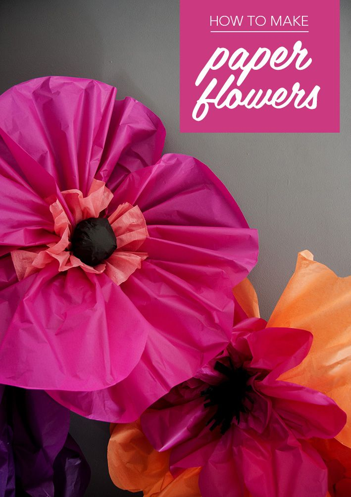 How to make paper flowers - Ladyland - this tutorial is from Mollie Makes magazine - which I love!