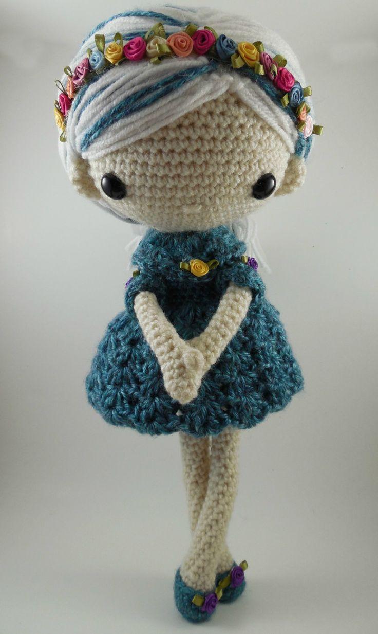 Knit Amigurumi Doll Pattern : Best knit crochet amigurumi dolls images on
