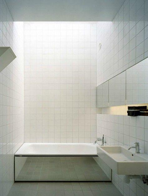 White Square Tile Bathroom 35 best square tiles images on pinterest | bathroom ideas, home