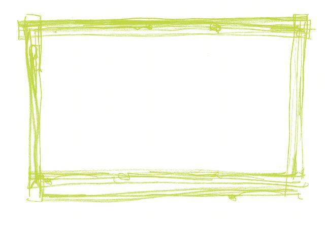 Ramki, Granicy, Zielony, Dekoracje