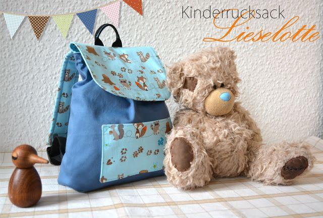 Kinderrucksack Lieselotte {FreeBook}