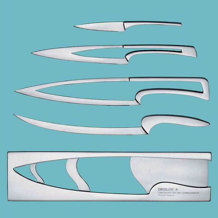 Nested Professional Chef Knife Set Masters Form and Function - Digital Ramen