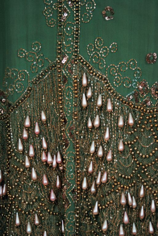 Detail of embroidery