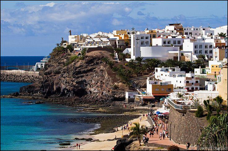 Eiland Fuenteventura, plaats Morro Jable. Te bezoeken vanaf Gran Canaria