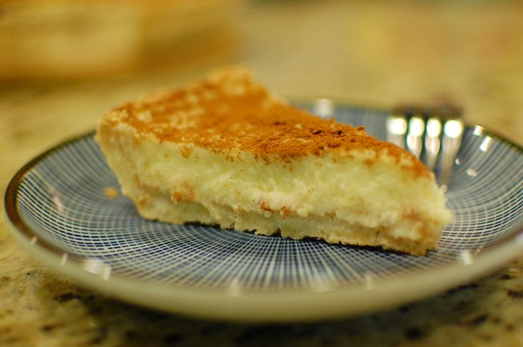South African Milk Tart (Melktert)