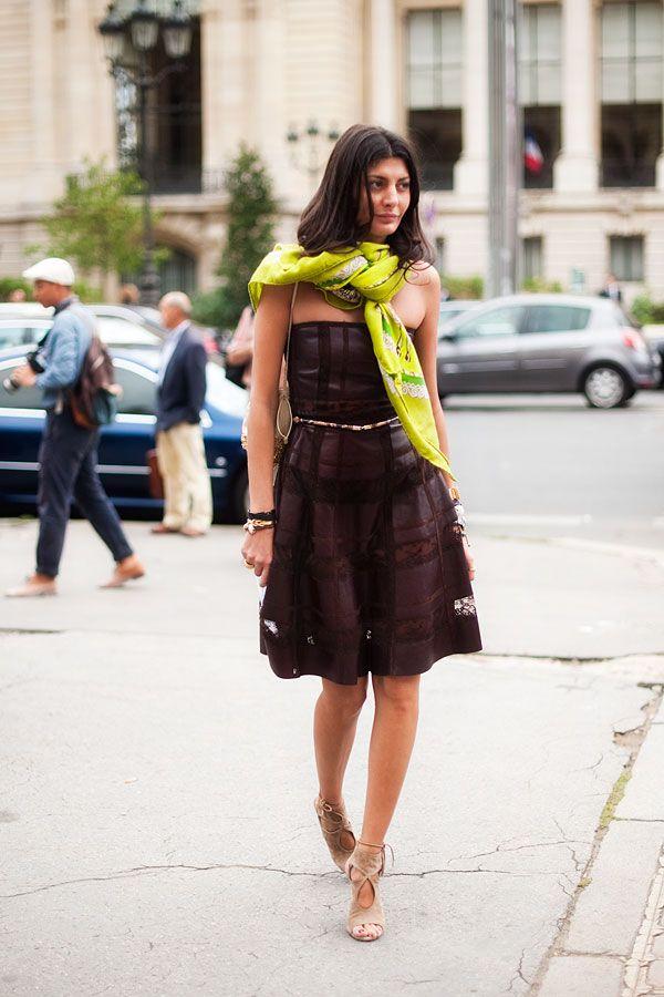 Vanessa Jackman: Paris Fashion Week SS 2012...Giovanna