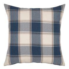 cushion plaid blue 55x55cm
