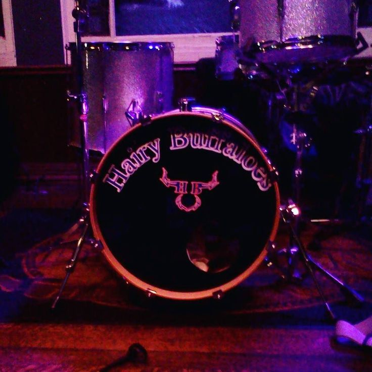 Love it when a band sends me a picture of their custom #drum head! This was such…
