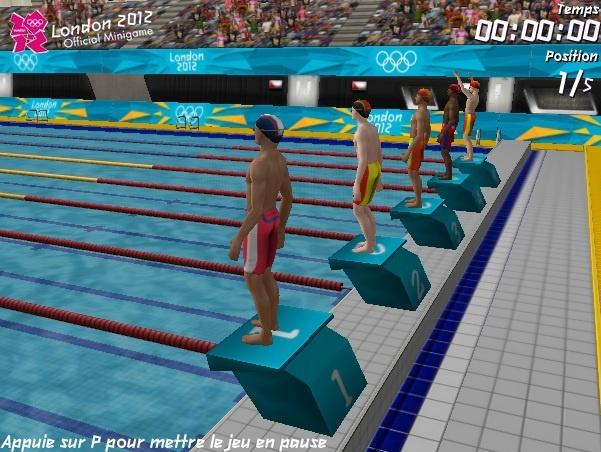Un petit jeu flash sympa sur les JO 2012 de Londres ! Au programme : balltrap, natation, saut en longueur, ping pong, tir à l'arc et 110m haies !    http://www.jeux-et-divertissements.fr/jeux-flash/94-london-2012-olympic-games.html