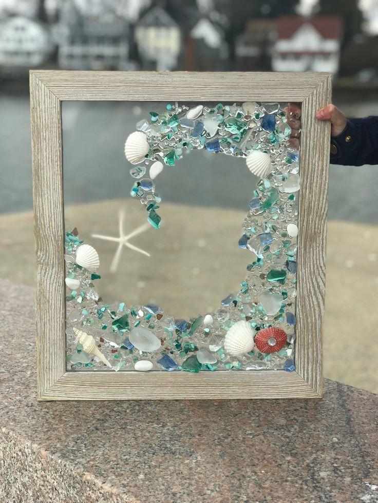 Advice On Coastal Decor Create Your Own Beach House Beach Glass Art Glass Window Art Sea Glass Mosaic