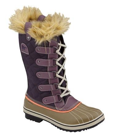 {Boysenberry Tofino Joan Waterproof Boot - Women by SOREL} What fun colors!