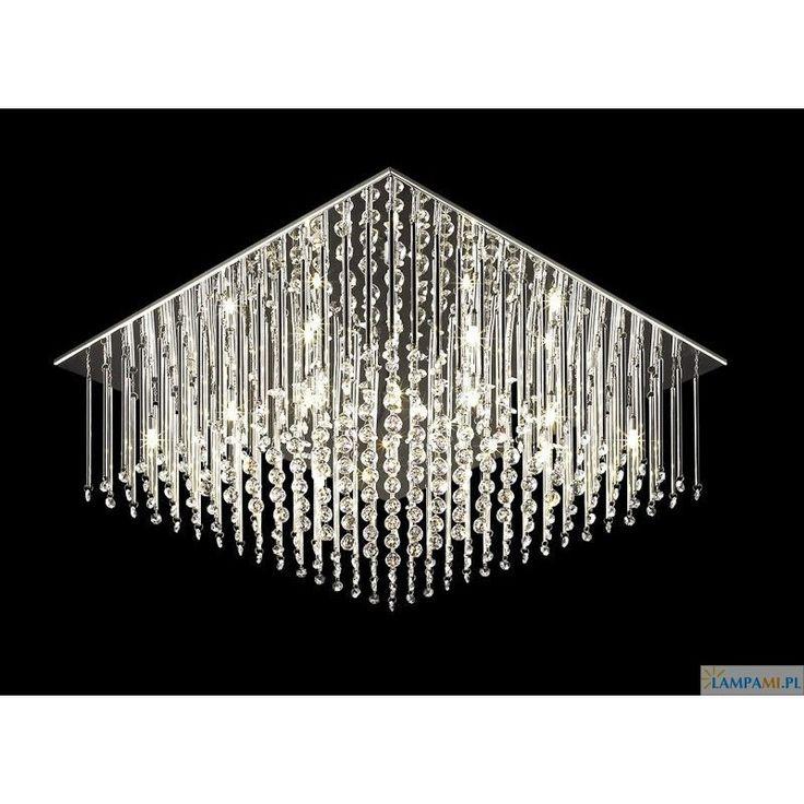 Chromowana stal + stylowe kryształki = elegancka nowoczesność. Plafon dostępny w naszym sklepie: http://zlampami.pl/459-angel-mx62703-12a-plafon.html