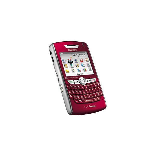 Blackberry 8830 Bluetooth Music RED World Phone Verizon - $49.99 :... ($50) ❤ liked on Polyvore featuring electronics, phones, celulares, accessories and cell phones