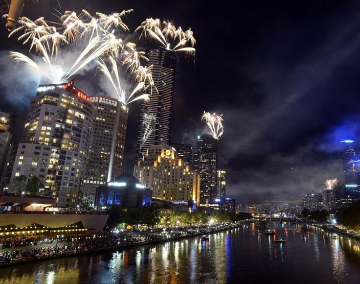 2014 New Year Celebrations in Melbourne