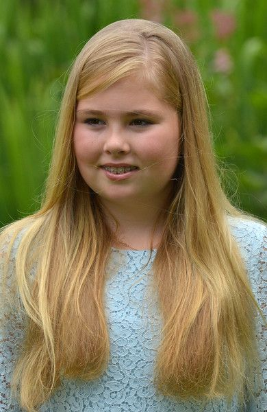 Dutch royal family photocall, villa Eikenhorst. 8 July 2016. Gorgeous princess Amalia.