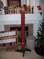 actual link to stocking tree (coat rack)