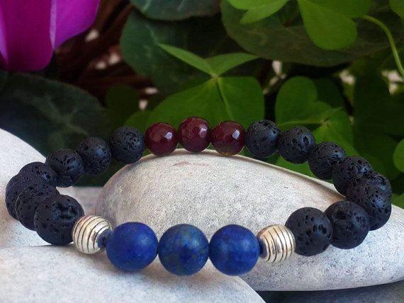 Hey, I found this really awesome Etsy listing at https://www.etsy.com/listing/266259831/express-shippinggemstone-bracelet