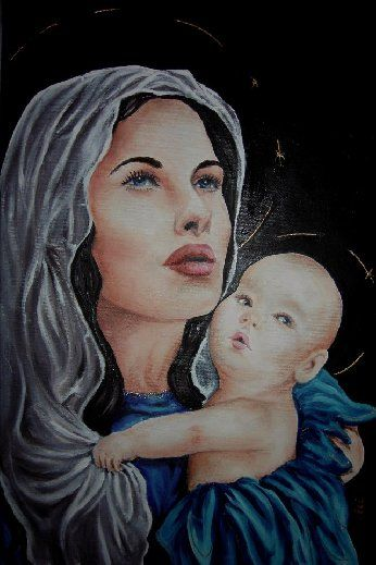 Matka Boska Makijażu.