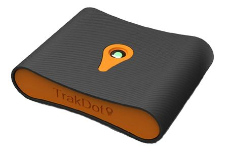 Trakdot, A Device That Tracks Your Luggage While You Travel.