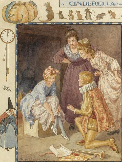"""Margaret Tarrant - """"Cinderella"""" by sofi01, via Flickr"""