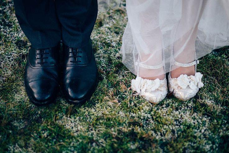Las novias de invierno están más de moda que nunca. Descubre esta sorprendente boda de invierno. Bodas reales.