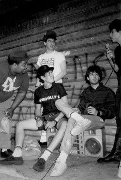 MTV's VJ Doctor Dre' & Beastie Boys by Ricky Powell