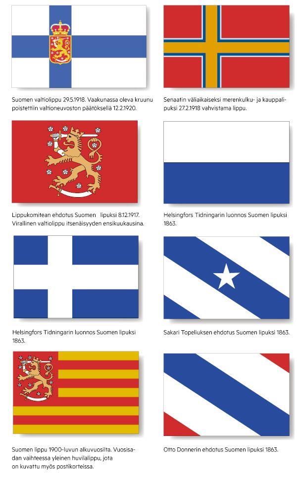 Suomen lipuksi oli ehdolla punakeltaista ja karkkipaperi – Syntytarina on täynnä draamaa | Hämeen Sanomat