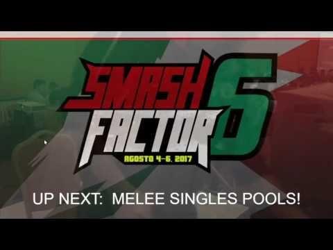 Smash Factor 6 Super Smash Bros Melee Tournament